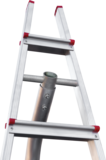 Aluminum garden collapsible stepladder NV 3198 sku 3198108
