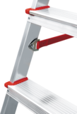 Aluminium professional stepladder with the storage tray NV 3150