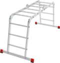 Professional multipurpose rung ladder 500 mm wide NV 3321
