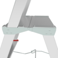 Professional aluminum stepladder with the storage tray and large top platform NV 3135 sku 3135111