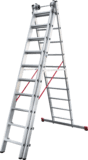 Three-section aluminium rung ladder for industrial use NV 5230