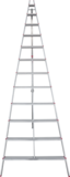 Aluminum garden collapsible stepladder NV 3198