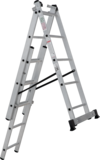 Three-section aluminium rung ladder NV 1230 sku 1230305