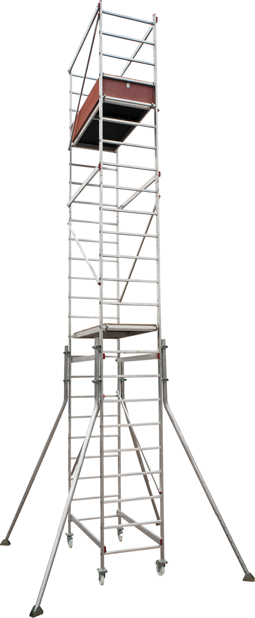 Scaffold-tower with the working height of 7 m NV 5470