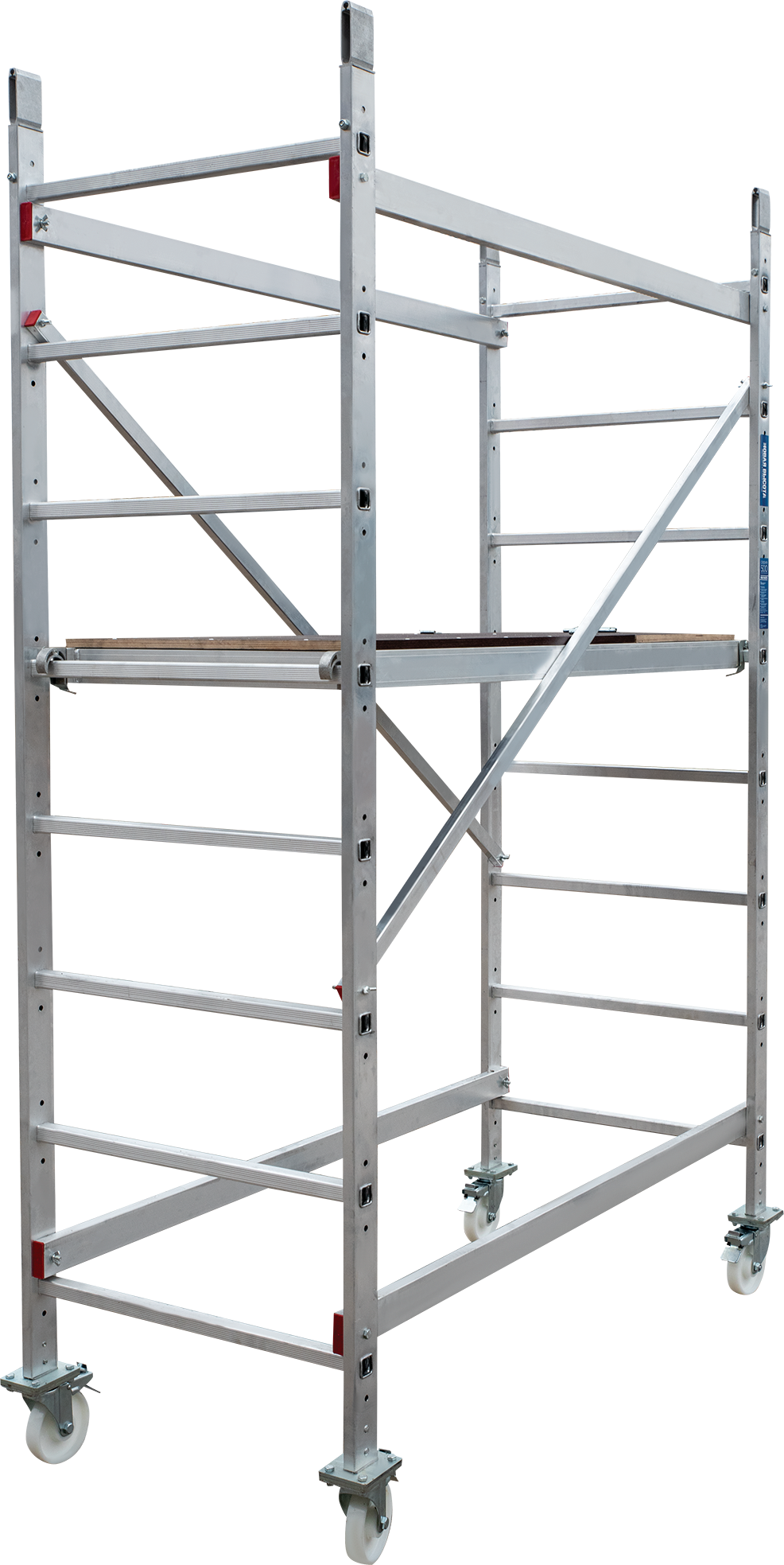 Scaffold-tower of 3 m with the possibility of enlargement up to 5and 7 m NV 5410