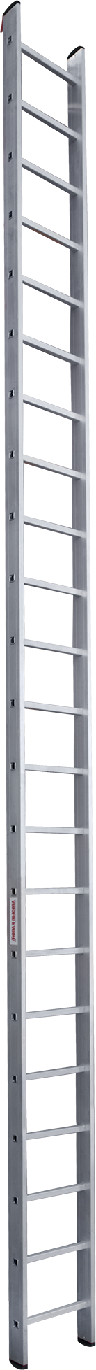 One-section aluminium professional rung ladder NV 3210 sku 3210122