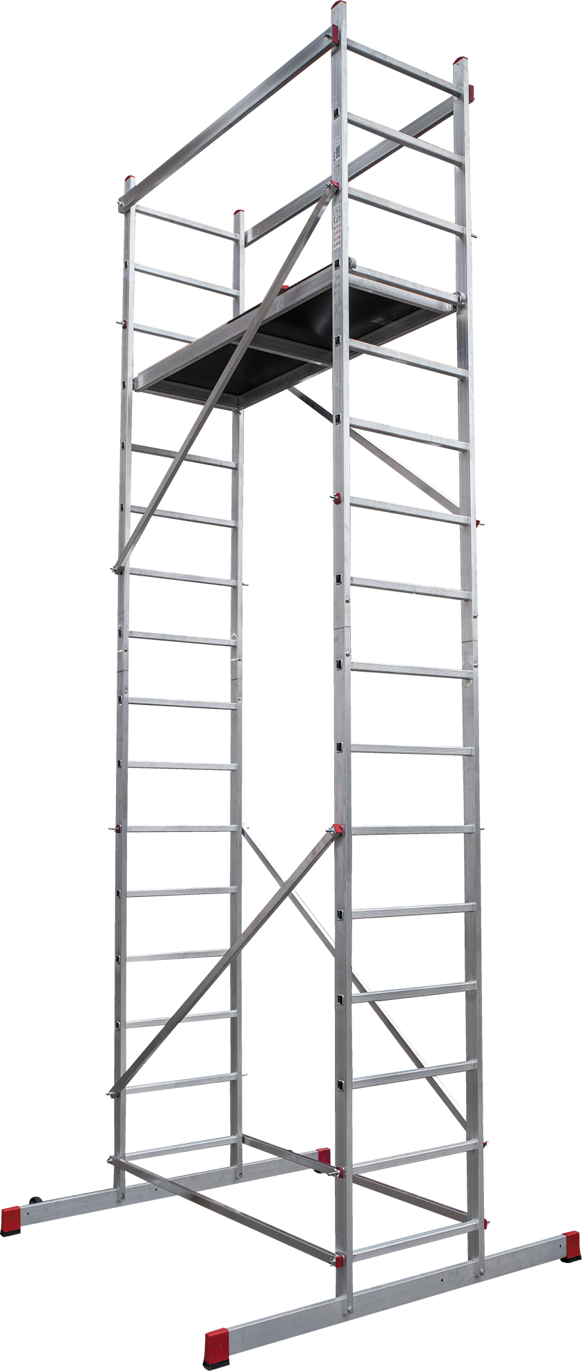 Scaffold-tower with the working height of 5 m NV 3450
